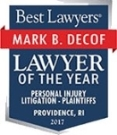 Best Lawyers names Mark Decof as Lawyer of the Year